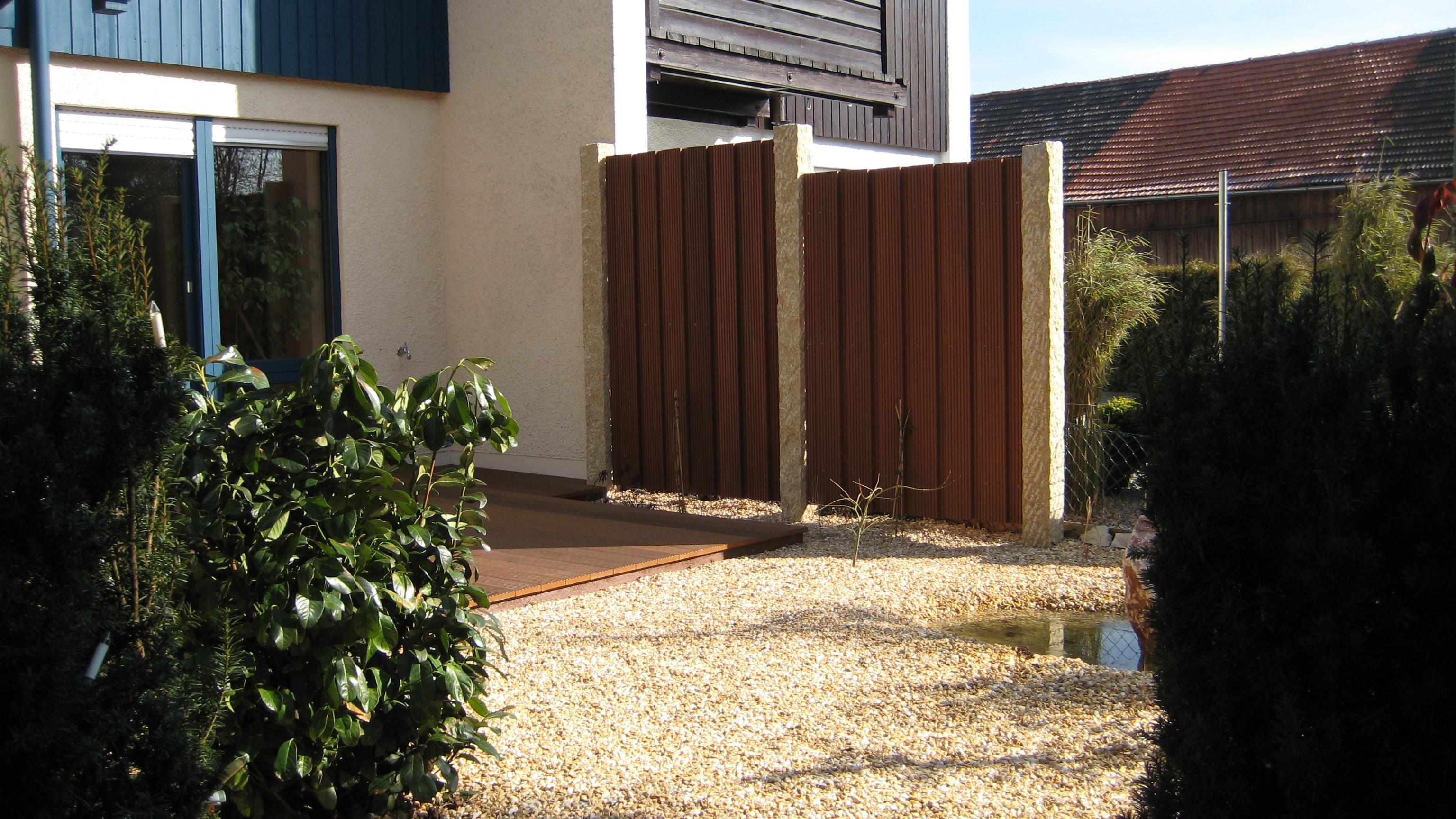 Schön Sichtschutz Garten Ideen Bilder Schema